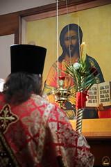 25. Пасхальная вечерня в соборе г. Святогорска 08.04.2018 г