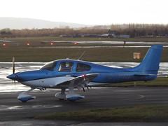 N508RA Cirrus SR22 GTS Private (Aircaft @ Gloucestershire Airport By James) Tags: gloucestershire airport n508ra cirrus sr22 gts private egbj james lloyds