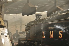 Barrow Hill Chesterfield Derbyshire 24th September 2015 (loose_grip_99) Tags: barrow hill shed roundhouse chesterfield derbyshire eastmidlands england uk steam engine mpd depot midland lms stanier preservation transportation gassteam uksteam train trains railways september 2015 264t tank 2500
