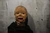 Clyde (shuddabrudda) Tags: clyde puppet marionette olddoll vintagedoll creepydoll haunteddoll headturner wtf texture textured texturized lips eyes doll
