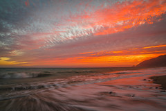 HDR Scenic Ocean View California Sunset! Sony A7R II Magnificent Malibu Beach Rainbow Clouds Red, Orange, Yellow Sunset! Carl Zeiss Glass! Sony Vario-Tessar T* FE 16-35mm f/4 ZA OSS Lens SEL1635Z ! McGucken Fine Art Landscape Photography! (45SURF Hero's Odyssey Mythology Landscapes & Godde) Tags: orange hdrscenicoceanviewcaliforniasunsetsonya7riimagnificentmalibubeachrainbowcloudsred yellowsunsetcarlzeissglasssonyvariotessartfe1635mmf4zaosslenssel1635zmcguckenfineartlandscapephotography malibu fine art epic sunset seascape 45epic dr elliot mcgucken landscape nature photography