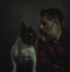 My great friend. (jcalveraphotography) Tags: selfportrait 365 selfie 365days dogs photo photographer people picture pets selfiebeard s