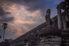 Sunrise at Angkor Wat (dogslobber) Tags: siem reap angkor wat temple temples ruins cambodia southeast asia sunrise sun rise