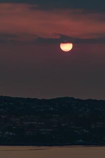 Sunset over Askøy
