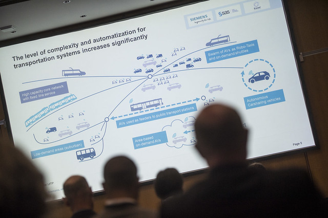 A presentation of the increased complexity and automatisation of transportation systems