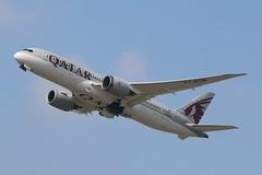 A7-BCB - LGW (B747GAL) Tags: qatar boeing b7878 dreamliner lgw gatwick egkk a7bcb