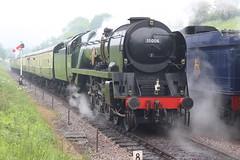 P&O on the rear of the train to Broadway (372Paul) Tags: toddington broadway cheltenham hailes foremarkehall po kingedwardii 6023 5197 s160 7903 6430 pannier dmu cotswoldfestivalofsteam gloucestershirewarwickshirerailway steam locomotive class20 class26 shunter