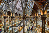 Natural History Museum in Oxford (Holfo) Tags: yellow architecture museum iron castiron nikon d750 hdr people building room animal fantastic majesty arches artefacts cases