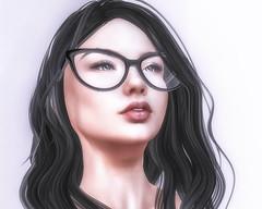 Whew. (myrhankennedy) Tags: cae catwa cutiepie fabia glassesgirl headshot insol justforfun maitreya portrait