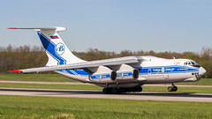 Ilyushin Il-76TD-90VD RA-76952 Volga-Dnepr (William Musculus) Tags: airport spotting basel mulhouse freiburg euroairport eap bsl mlh lfsb ra76952 volgadnepr ilyushin il76td90vd il76 il7690 il76td