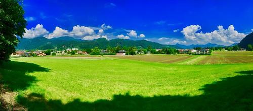 Fields near Kufstein, Tyrol, Austria