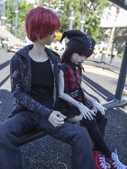Chen Shu & Seijurou Akashi (koshkamartovskaya) Tags: blackcherry doll xiao yu dollmore zaoll ramie boy akashi seijurou kuroko no basuke bjd dolls myfaceceups art fanfiction