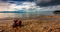 IMG_1480 (radomirmor) Tags: sky water bodensee lake wood 6d canon stone beach cloud mountain 163528iil austria