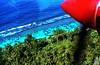 Landing soon in Tahiti (gerard eder) Tags: world travel reise viajes oceania polynesia polynésiefrançaise polynesie frenchpolynesia tahiti aerial aerialview aerialviews luftbild vistaaerea beach strand playa paisajes panorama landscape landschaft natur nature naturaleza wasser water waves blue outdoor