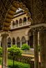 Alcazar, Seville. (Blackburn lad1) Tags: spain seville alcazar archway garden xt20 tree building architecture xf1855