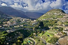 City among the clouds (somabiswas) Tags: ravello italy cliffs houses