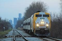 CN/Via Chatham Sub (Ontario Trackside Photography) Tags: cn via rail train passenger chatham sub windsor ontario gm