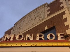 Monroe Theatre (jericl cat) Tags: monroe theatre theater exterior marquee neon closed 1927
