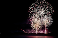 阿知須浦まつり花火大会 2018 #5ーFireworks Ajisu town, Yamaguchi city 2018 #5 (kurumaebi) Tags: yamaguchi 山口市 阿知須 nikon d750 ajisu 花火 fireworks sea 海 night 夜 landscape dus