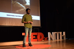 Getting Out of Lazy Hostel Beds (TedxNITH) Tags: tedx tedxnith teamwork nithamirpur groupshot stage tedtalks inspiration explore