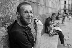 (Manuel Soleado) Tags: fujixe1 35mm fujinon urbana social callejera street santiago peregrino pilgrim