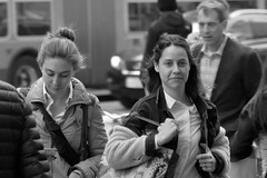 Market St Candids 5-21-18 101 (TheseusPhoto) Tags: monochrome monotone noir people citylife city candid blackandwhite bnw blancoynegro streetphotography street sanfrancisco marketstreet girl woman pretty faces
