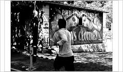 POUR VIVRE PEUREUX, VIVONS CLOITRES (mamasuco) Tags: nikon d7000 paris graffitis streetart festiwal3 noiretblanc ngc canaldelourcq