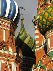 Saint Basil´s Cathedral (RobertLx) Tags: architecture dome religion temple orthodox church building city square redsquare moscow russia europe easterneurope cathedral oniondome соборвасилияблаженного