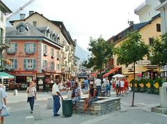 Chamonix streetscene -  2003 (stevelamb007) Tags: france chamonix alps streetscene stevelamb 2003
