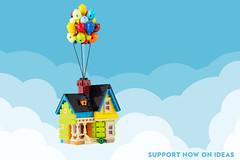 Up House - now on Ideas (Legopard) Tags: lego moc up movie pixar disney ideas