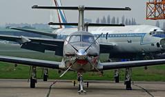 Pilatus PC 12 ~ LX-TAI (Aero.passion DBC-1) Tags: spotting lbg 2010 aeropassion avion aircraft aviation plane dbc1 david biscove bourget airport pilatus pc12 ~ lxtai
