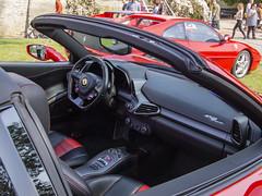 Ferrari 458 Spider (The Adventurous Eye) Tags: ferrari 458 spider veteránipodzámkem dobřichovice2018