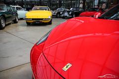 IMG_8569 (Joop van Brummelen) Tags: meilenwerk classic remise duesseldorf düsseldorf cars classics classicremise coupe roadster ferrari 488 458 599 testarossa