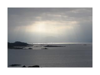 Sunbeams over Ria de Arousa-Palmeira(Coruña-España-Spain)