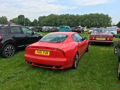 Boomerang LED Taillight 2001 Maserati 3200GT V8 Twin Turbo & 6 speed manual Gearbox (mangopulp2008) Tags: boomerang led taillight 2001 maserati 3200gt v8 twin turbo 6 speed manual gearbox enfield car pageant london 2018