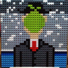 The Son of Man - René Magritte (andresignatius) Tags: thesonofmanrenémagritte lego art painting