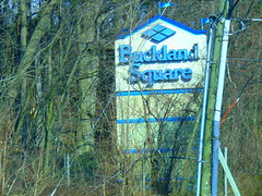 Buckland Square (Manchester, Connecticut) (jjbers) Tags: buckland hills manchester connecticut april 20 2018 old square sign hidden