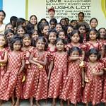 Akira Proske im GIRL Mädchenheim, Guntur (Indien)