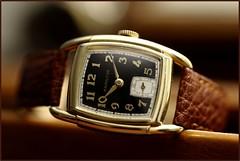Hamilton, Dodson. (EOS) (Mega-Magpie) Tags: canon eos 60d indoors vintage hamilton dodson c1939 time timepiece watch wristwatch old classic elegant fine classy handsome 10k gold
