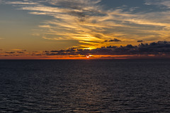 Sunset (davebentleyphotography) Tags: davebentleyphotography 2017 carnival cruise sea ocean outtosea sunset carnivalcruise