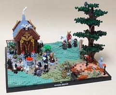 House of the Seer (-Wat-) Tags: roguebricks brandküste rpg 9reiche ninekingdoms castle lego