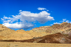 20180314_Death_Valley_120 (petamini_pix) Tags: california deathvalley deathvalleynationalpark desert landscape artistspalette artistspalettedrive mountains colorful hills clouds