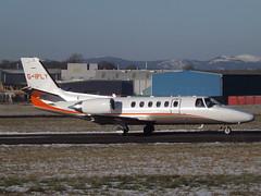 G-IPLY Cessna Citation Bravo 550B XJC Ltd (Aircaft @ Gloucestershire Airport By James) Tags: gloucestershire airport giply cessna citation bravo 550b xjc ltd egbj james lloyds