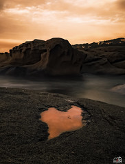 Roques planes (JesusLobato) Tags: girona roquesplanes largaexposicion beach nikond3100 reflejos filtros lucroit nd10 diurna