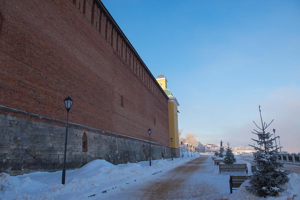 фото: Smolensk. Kremlin wall
