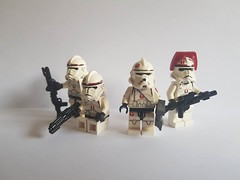New Reinforcements for my 91st Recon Corps (影Shadow98) Tags: lego clone trooper grand army republic gar commander