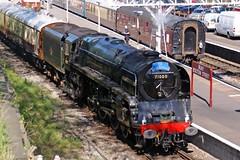 BURY 240411 71000 (SIMON A W BEESTON) Tags: elr eastlancashirerailway bury 71000 dukeofgloucester