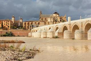 Roman Bridge and Mosque - Cathedral in Cordoba