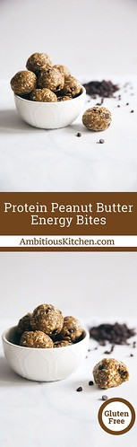 Healthy Eating  : Fiber & protein packed peanut butter energy bites with amazing chewy texture! Lo...