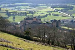 Castle below (Chemose) Tags: bourgogne burgundy southburgundy bourgognedusud berzélechâtel mâconnais château castle landscape randonnée hiking paysage france sony ilce7m2 alpha7ii winter hiver mars march
